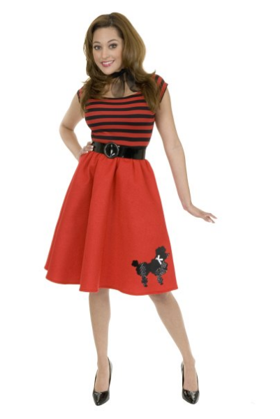 50's Poodle Dress - Wonderful 50s Costumes Ideas
